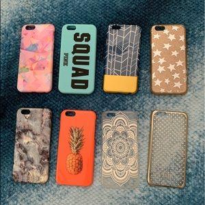 Eight iPhone 5s cases!